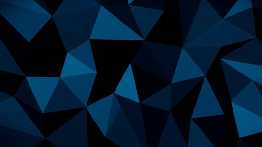 Thumbnail for Dark Abstract Low Poly Background