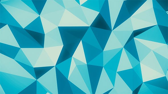 Thumbnail for Blue Abstract Low Poly Background