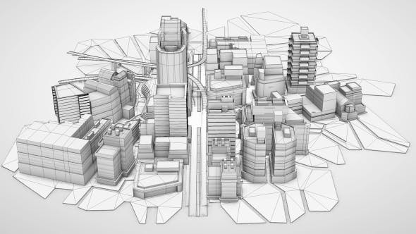 Thumbnail for Architecture Blueprint City Background