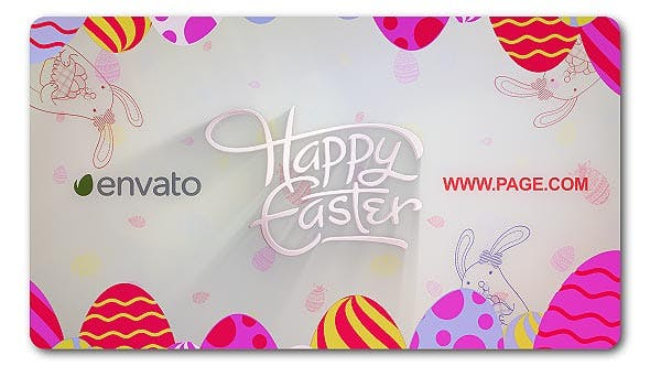 Cover Image for Happy Easter Logo Reveal