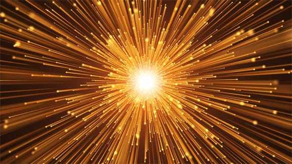 Cover Image for Glowing Particles Starfield