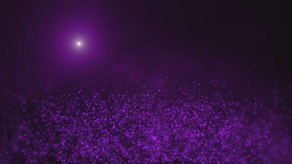Thumbnail for Purple Magical Mist in the Sunlight Background