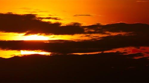 Long Shot Of Sunset