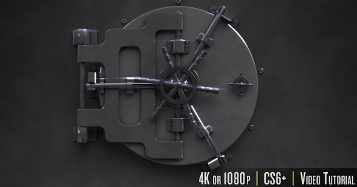 Safe Unlock Logo Reveal by butlerm