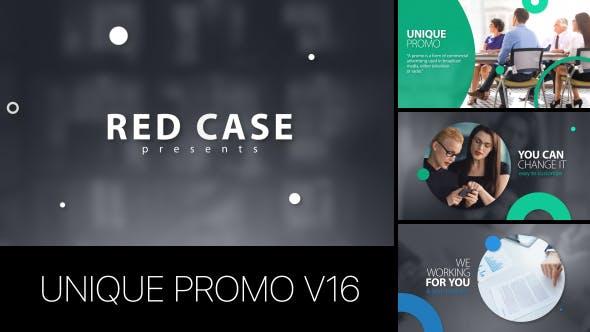 Thumbnail for Unique Promo v16 | Corporate Presentation