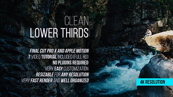 Cover Image for Clean Lower Thirds for Final Cut Pro X