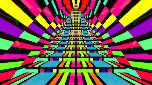 Thumbnail for Neon Line Stairway