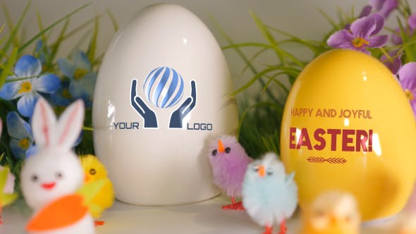 Easter Greetings - Digital Signage