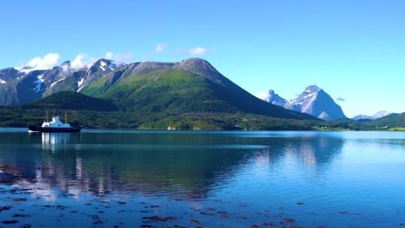 Thumbnail for Ferries' Cross. Beautiful Nature Norway.
