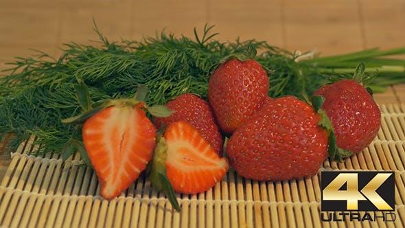 Thumbnail for Fresh Strawberries on Table