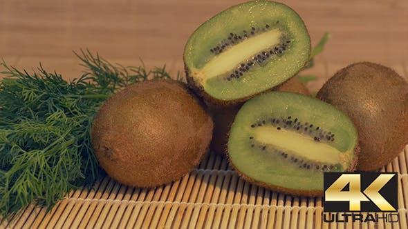 Thumbnail for Fresh Kiwi on the Table