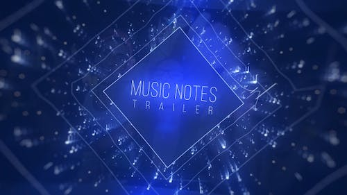 Music Notes Trailer