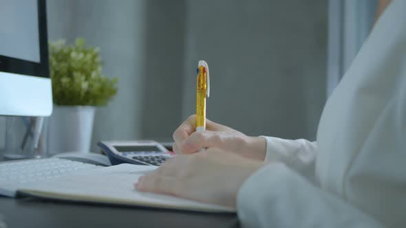 Cover Image for Accountant Working In Office
