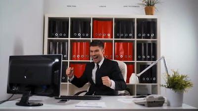 Successful Businessman Wins Great Deal