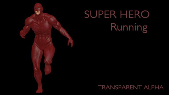 Thumbnail for Superhero Running