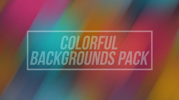 Colorful Blur Backgrounds Pack