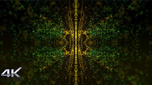 Thumbnail for Gold Kaleidoscope Background