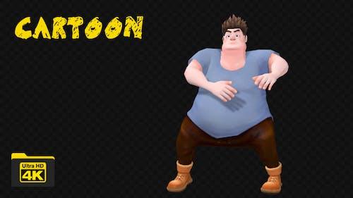Cartoon Dancer