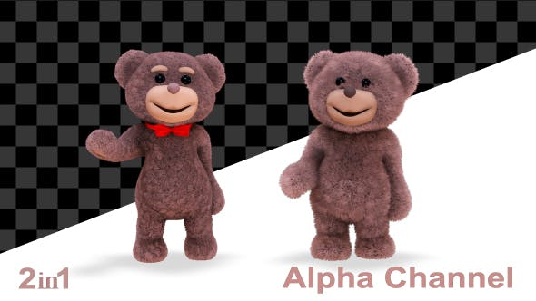 Thumbnail for Teddy Bear Hi (2-Pack)