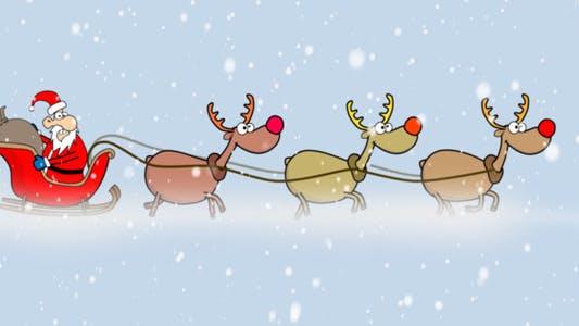 Thumbnail for Santa In Blizzard