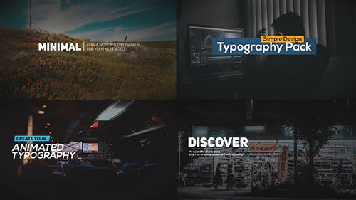 FCPX Animated Typography Titles