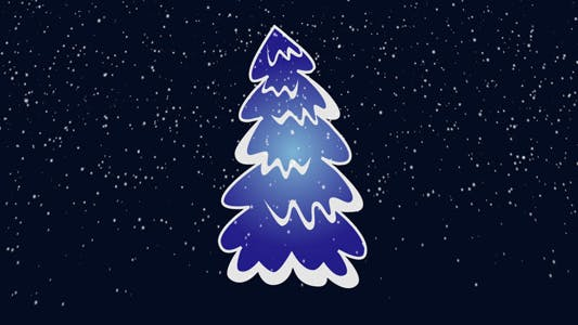 Thumbnail for Christmas Tree In Snow