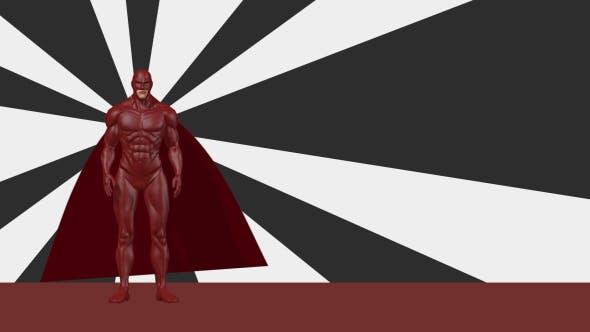 Thumbnail for 3D Superhero Background