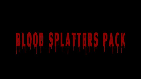 Cover Image for Blood Splatter Pack