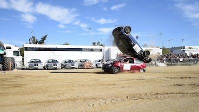 Crash Cars Slow Motion