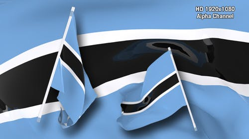 Flag Transition - Botswana