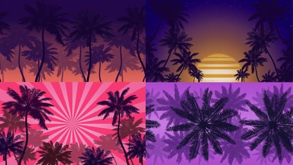 Thumbnail for Summer Beach Backgrounds
