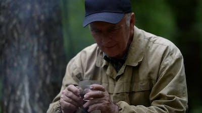Portrait of an Elderly Man in a Cap