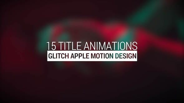 Cover Image for Glitch Titles