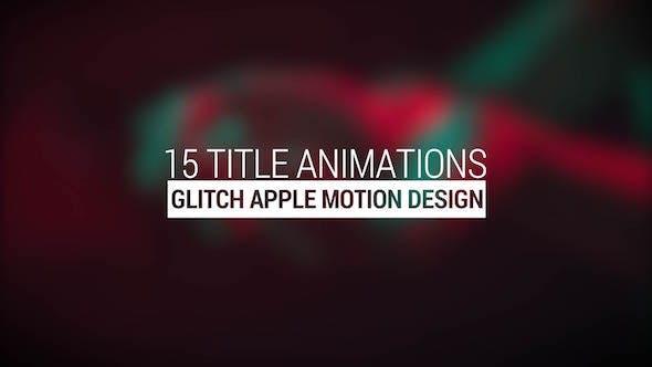 Glitch Titles