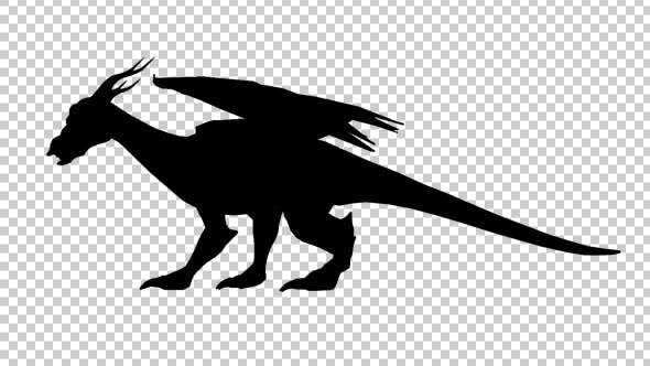 Thumbnail for Dragon Silhouette