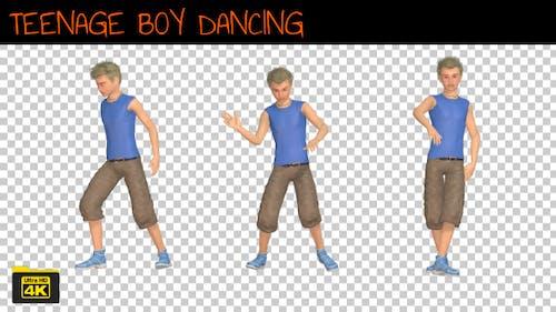 Teenage Boy Dancing
