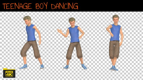 Thumbnail for Teenage Boy Dancing