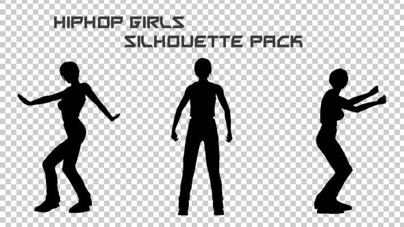 Thumbnail for Hiphop Girl Silhouettes Pack