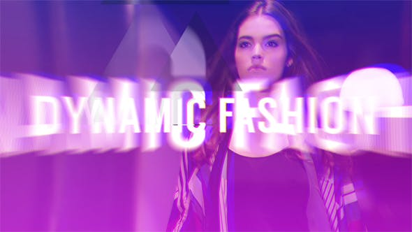 Thumbnail for Dynamic Fashion // Glitch Logo Opener