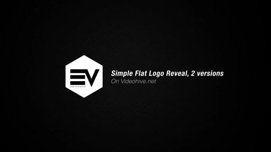 Thumbnail for Simple Flat Logo Reveal