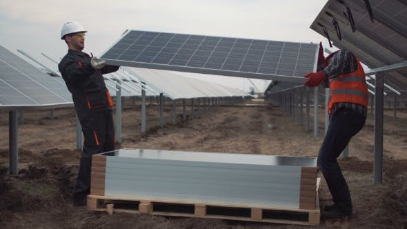 Thumbnail for People Mounting Solar Panels