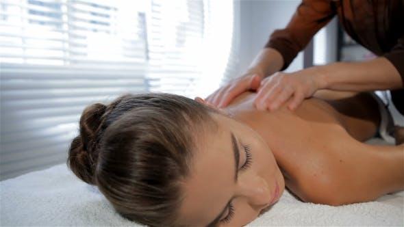 Thumbnail for Masseur Massages Girl's Sides