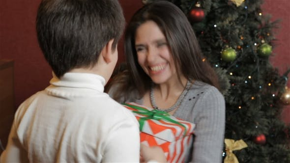 Thumbnail for Mother Gets Christmas Gift From Her Son