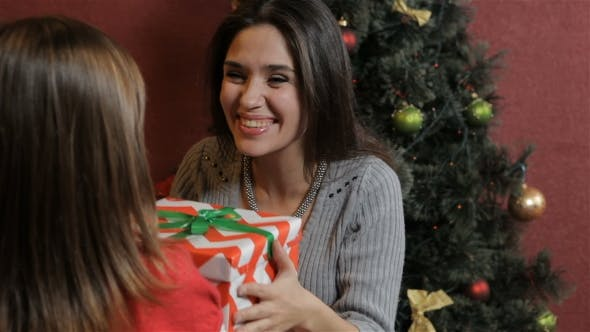 Thumbnail for Woman Gets Christmas Gift From Her Daughter