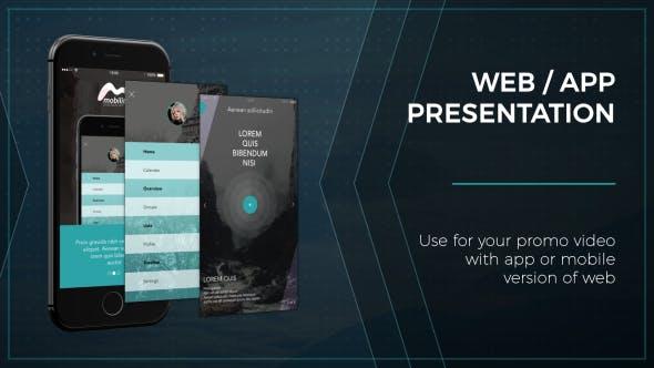 Thumbnail for Web / App Presentation - Phone