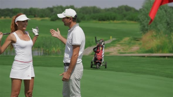 Thumbnail for Instructor Tells the Woman About Golf
