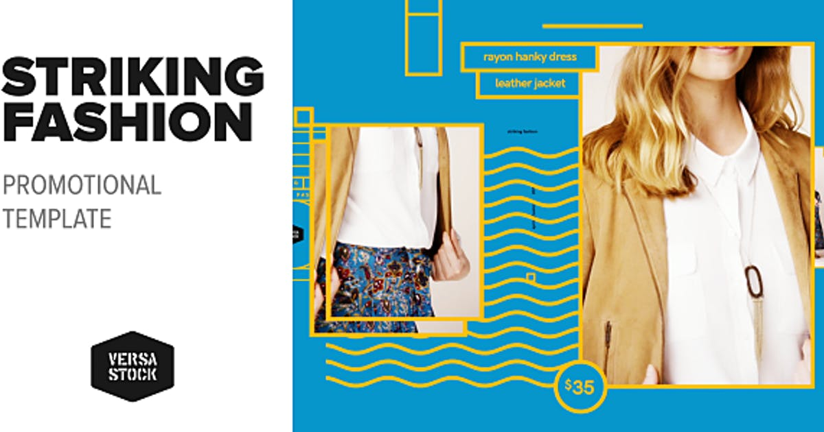 Striking Fashion | Promo by VersaStock