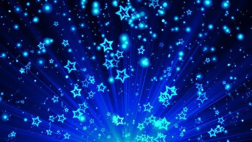Stars Sparks Blue