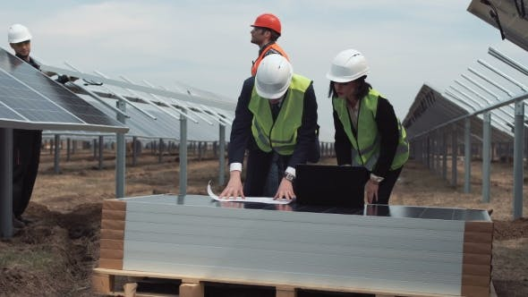 Thumbnail for Managers on Solar Farm