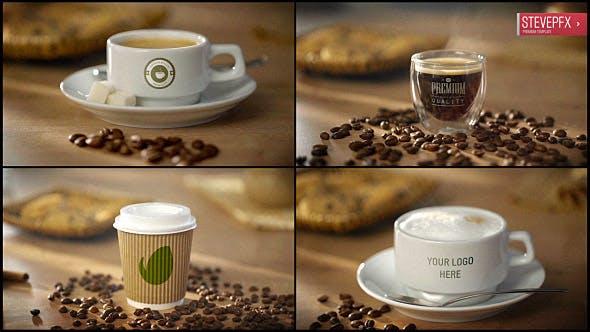 Coffee AE Mockup | Espresso Americano Cappuccino Coffee to Go